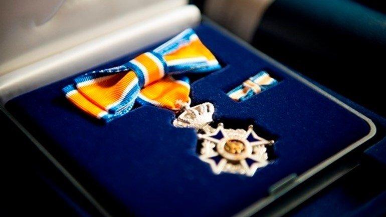 Royal honours for Jeroen van den Hoven