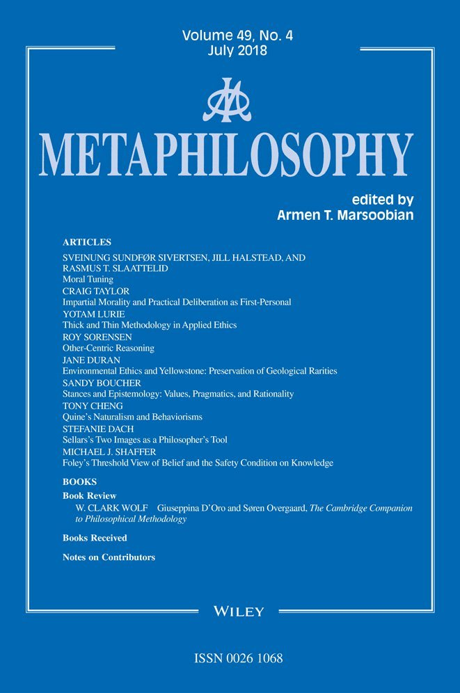 Computer Ethics and Moral Methodology