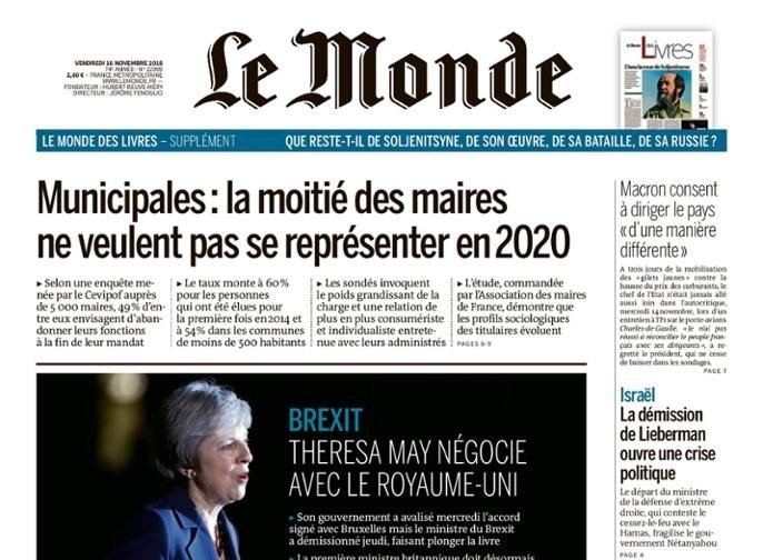 """We Must Dissolve the Moral Fog that Surrounds the Internet"" – OpEd in Le Monde"