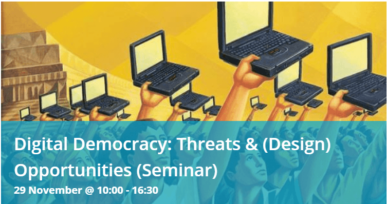 "Panel discussion ""Digital Democracy: Threats & Opportunities"""